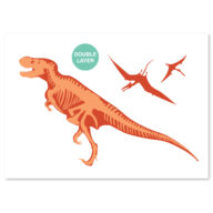 T-Rex stencil, Dinosaurus sjabloon