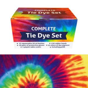 QBIX Tie-dye set
