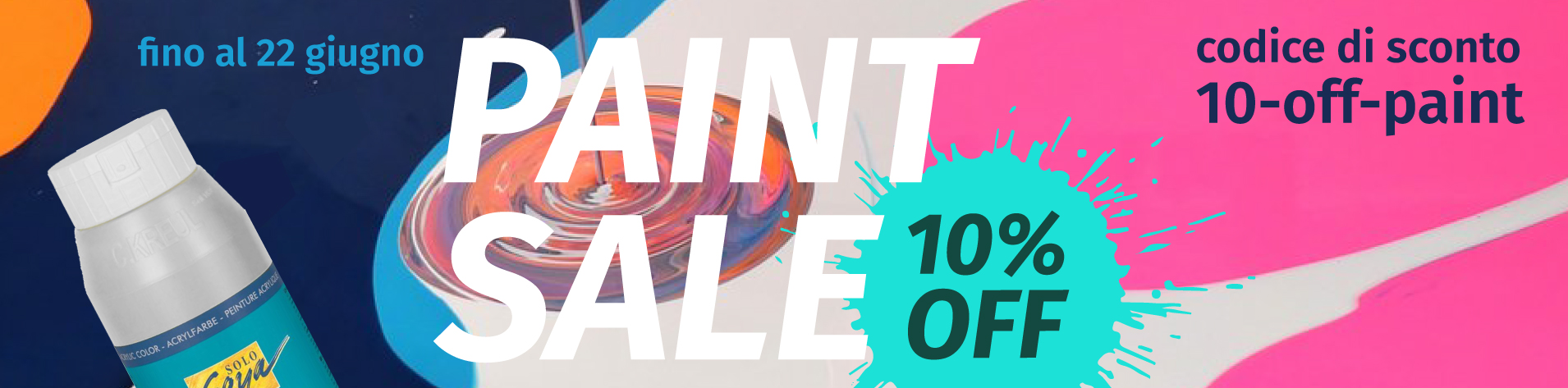 Paint Sale 10%